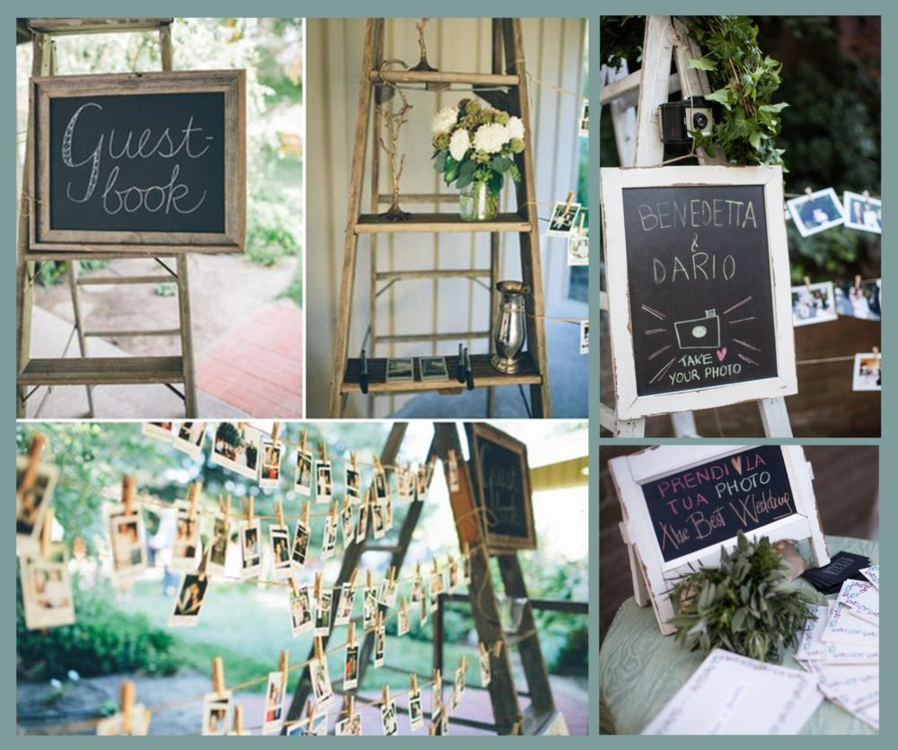 the wedding wall and photo booth