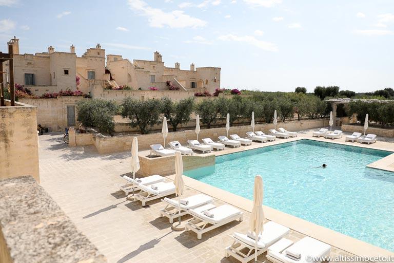 Beautiful pool in Borgo Egnazia