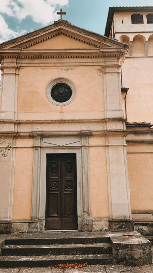 Villa Mainano's chapel, Tuscany